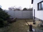 Betonový plot výška 2,00m