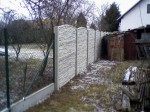 pletiv,podhr.deska,betonový plot