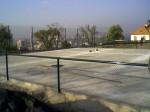 oplocení tenisového kurtu-pletivo Alugreen
